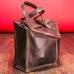 Кожаная сумка-рюкзак трансформер ручной работы Instability Line Brown купить по лучшей цене