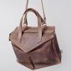 Сумка-рюкзак кожаная коричневая Instability Line