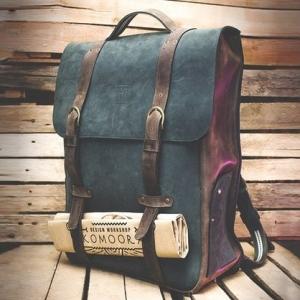 Кожаный рюкзак ручной работы AMXPM Bag pack