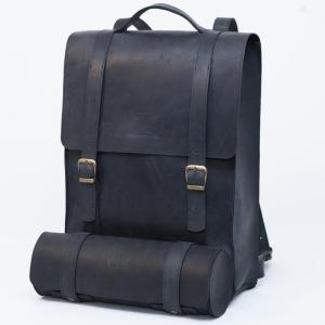 Рюкзак кожаный молодежный AMXAM Backpack