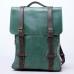 Рюкзак винтажный из натуральной кожи Bronx Green купить по лучшей цене