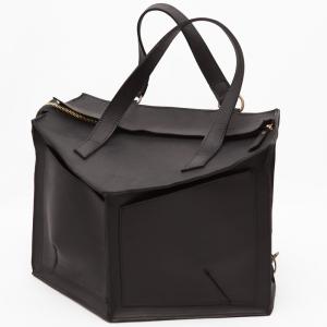 Сумка-рюкзак кожаная матовая Instability Line