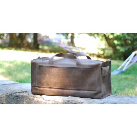 Сумка мужская дорожная кожаная Large Travel Bag