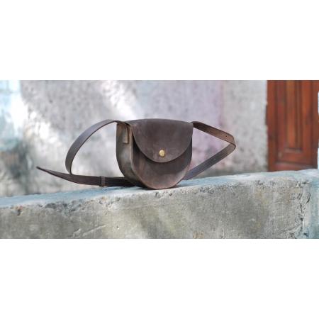 Кожаная женская сумка через плечо Bag Leather Mini купить по лучшей цене