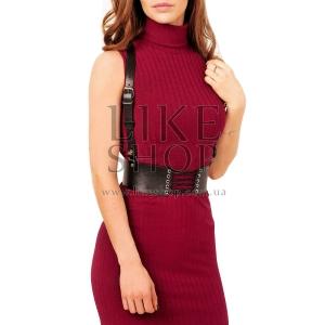 Женская портупея со шнуровкой Belt Leather