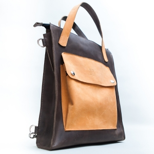 Сумка-рюкзак женская кожаная Bag-Backpack