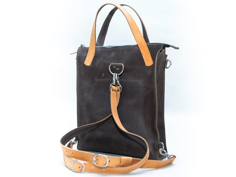 Сумка-рюкзак женская кожаная трансформер купить рюкзак крипера из майнкрафта