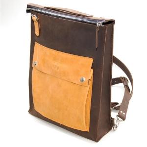 Сумка-рюкзак кожаная трансформер Favorite