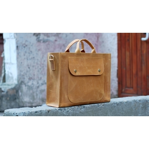 Сумка кожаная Bag Leather Unisex Biz
