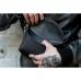Сумка на пояс из кожи Nappa Black
