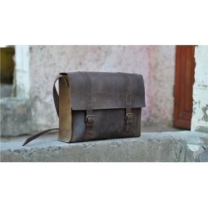 Сумка кожаная Bag Leather Brown