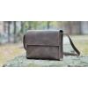 Кожаная сумка Fort коричневая