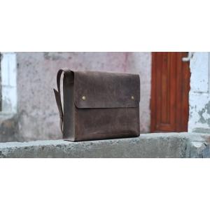 Сумка повседневная коричневая Bag Leather