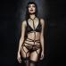 Женская потрупея кожаная черная Belts Body купить по лучшей цене