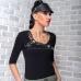 Женская кожаная портупея Astraeus Black купить по лучшей цене