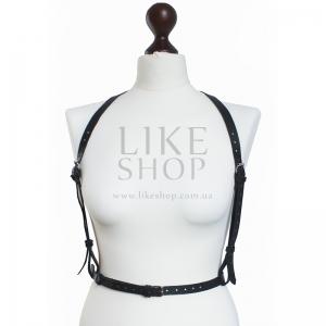 Женская портупея Belt Leather Skeleton