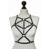 Женская портупея черная Casual Harness Belt