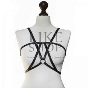 Женская портупея кожаная Belt Leather