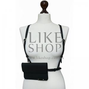 Женская портупея с кобурой Belt Leather Holster