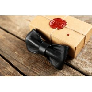 Галстук бабочка Bow Tie Leather