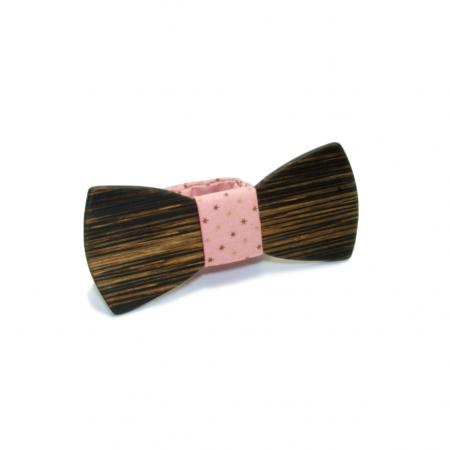 Деревянная галстук-бабочка Полиур