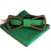 Деревянная бабочка Wooden bow tie 1