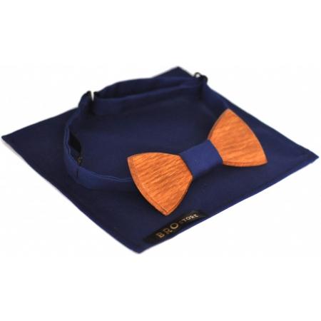 Бабочка-галстук деревянная Blue Darkness купить по лучшей цене