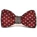 Бабочка-галстук Fleur-de-Lis Red Woolen купить по лучшей цене