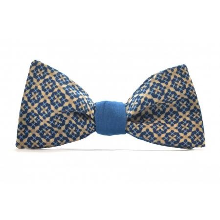 Бабочка-галстук голубая Blue Geometric купить по лучшей цене