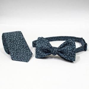 Комплект галстук и бабочка Weave
