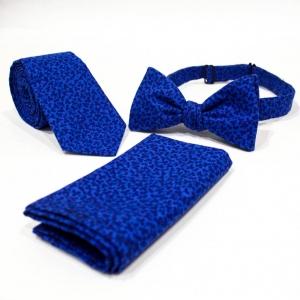 Комплект галстук, бабочка и платок Azure