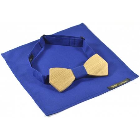 Бабочка деревянная с платком Blue Woodent купить по лучшей цене