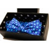 Галстук-бабочка Blue Stars со звёздами