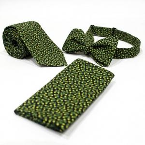 Комплект галстук, бабочка и платок Vegetal