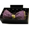 Галстук-бабочка Violet с цветами