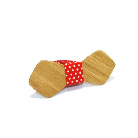 Деревянная галстук-бабочка Авриний