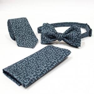 Комплект галстук, бабочка и платок Garnish
