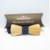 Деревянная галстук-бабочка Годфри