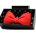 Галстук-бабочка красная Bow Tie Lattice купить по лучшей цене