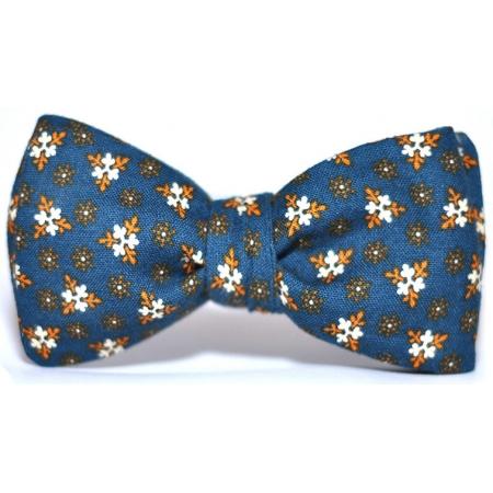 Галстук-бабочка синяя со снежинками Tavern Blues Victory