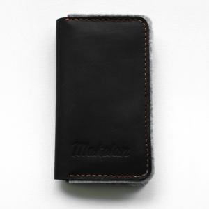 Чехол-кошелек из кожи и войлока для iPhone Snug