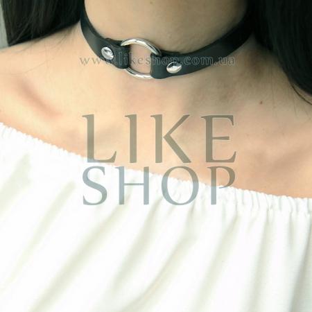 Женский чокер на шею из кожи Choker Leather Excited купить по лучшей цене