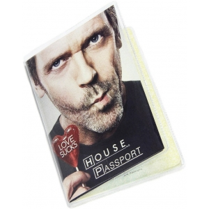 Обложка на паспорт Доктор Хаус