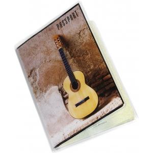 Обложка на паспорт Гитара акустика
