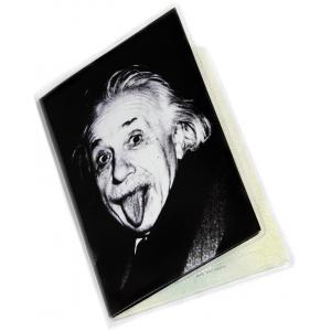 Обложка на паспорт Альберт Эйнштейн