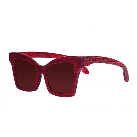 Деревянные очки солнцезащитные Butterfly Paduk