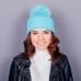 Женская шапка Truancy Blue голубая купить по лучшей цене