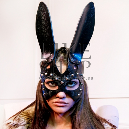 Женская маска зайки кожаная Bunny Glowing купить по лучшей цене
