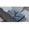 Блокнот кожаный серый For Notes