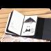 Блокнот дизайнерский Панда черно-белые зарисовки 3